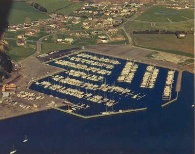 Half Moon Bay Marina, Auckland; 1973; Photograph