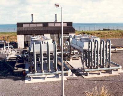 Brian Perry Ltd: 1986 New Cooler at Pumping Station - Job No 86-408