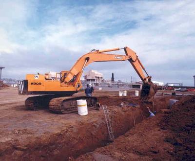 Brian Perry Ltd: 1986 Earthworks project at Synfuel, Motunui - Job No 86-228